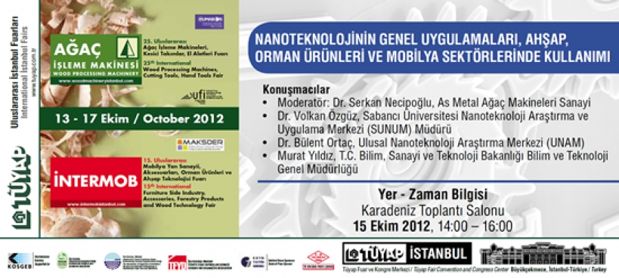 NANOTECHNOLOGY, MODERATED BY DR. SERKAN NECİPOĞLU DISCUSSED ON OCTOBER 15, 2012 IN THE FEATHER