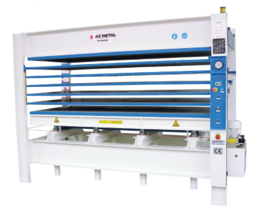 Electric Heated Multi Layer Hydraulic Door Press