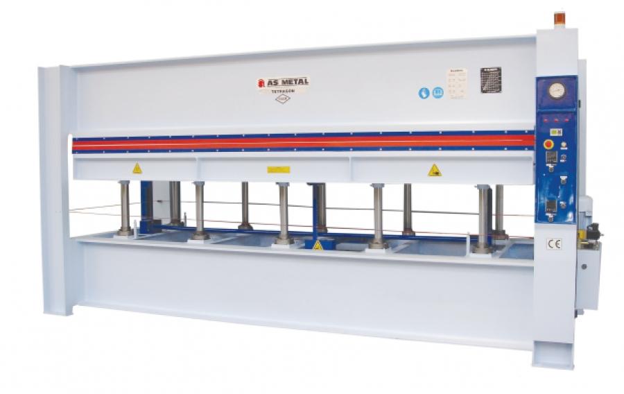 Electric Heated Hydraulic Veneer and Laminate Press