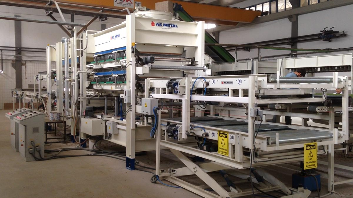 Recycling Pressing Line